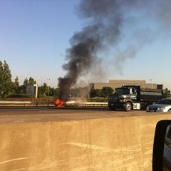 Photo taken at CA-55 (Costa Mesa Freeway) by Amanda S. on 9/12/2011