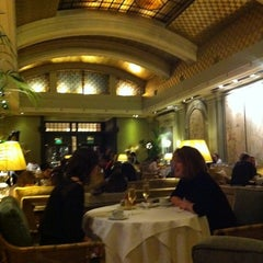 Photo taken at The Palm Court by Polly K. on 12/4/2011