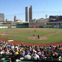 Photo taken at Fort Wayne TinCaps Baseball by Clinton F. on 4/18/2012