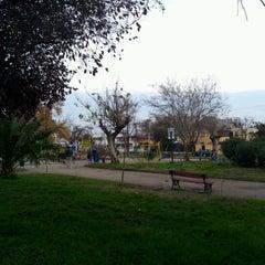Photo taken at Plaza Guillermo Franke by Sebastián Ignacio O. on 6/16/2012