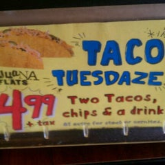 """Photo taken at Tijuana Flats by """"Diner Dave"""" B. on 1/10/2012"""