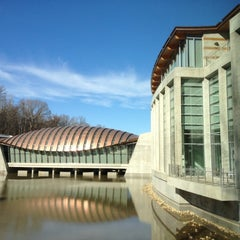 Photo taken at Crystal Bridges Museum of American Art by Jay W. on 1/28/2012
