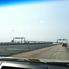 Photo taken at Pearl Harbor Memorial Bridge by Mónica C. on 7/1/2012