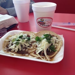 Photo taken at Taqueria El Chino by Charly G. on 3/17/2012