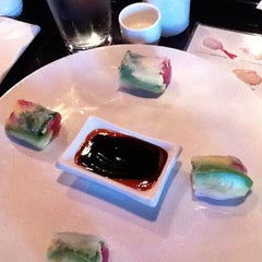 Photo taken at Blue Moon Asian Grill & Sushi Bar by Michelle J. on 7/23/2011