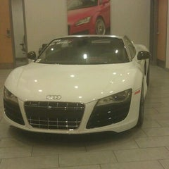 Photo taken at Audi Warwick by Fabiola B. on 10/19/2011