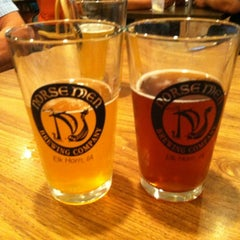 Photo taken at Thirsty Mermaids BrewCafe by Megan R. on 8/4/2012