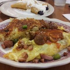 Photo taken at Millbrae Pancake House by Anna T. on 3/3/2012