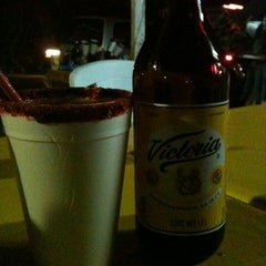 Photo taken at Micheladas oaxtepec by Victoria G. on 3/17/2012
