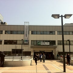 Photo taken at 松戸駅 (Matsudo Sta.) by Takeshi S. on 2/24/2012