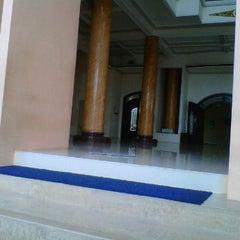 Photo taken at Masjid Jami' Baiturrohim Rogojampi by Danyoe G. on 12/3/2011