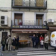 Photo taken at Antigua Casa Patata Asador by Jesus M. on 4/6/2012