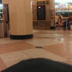 Photo taken at NJ Transit Waiting Area by Amy M. on 1/27/2012