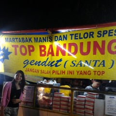 Photo taken at Martabak Manis Gendut Ps. Santa by Andy K. on 8/21/2012