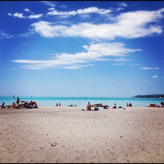 Photo taken at Spiagge Bianche by Giulia B. on 7/23/2012