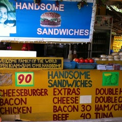 Photo taken at Handsome Sandwiches by a_islander on 5/1/2011