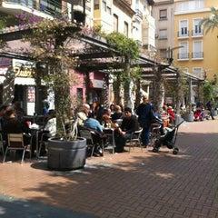 Photo taken at Plaza Nueva by Ana E. on 4/4/2012