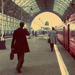 Photo taken at Аэроэкспресс Шереметьево (SVO) – Москва / Aeroexpress Sheremetyevo (SVO) to Moscow by nino n. on 4/13/2012