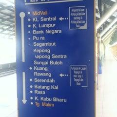 Photo taken at KTM Line - Mid Valley Station (KB01) by Jasmin M. on 6/30/2012