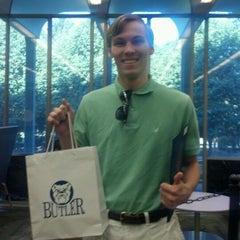 Photo taken at Irwin Library @ Butler University by Kristi K. on 6/15/2012