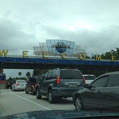 Photo taken at Universal Orlando Resort Parking Complex by Daniel L. on 4/14/2012