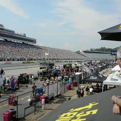 Photo taken at New Hampshire Motor Speedway by Aquarius Sports & Entertainment on 7/14/2012