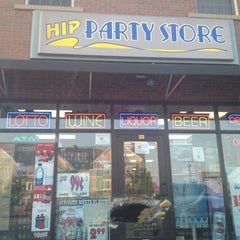 Photo taken at Hip Party Store by Tom C. on 7/4/2012
