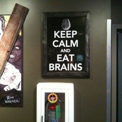 Photo taken at Zombie Burger + Drink Lab by Chad C on 8/11/2012