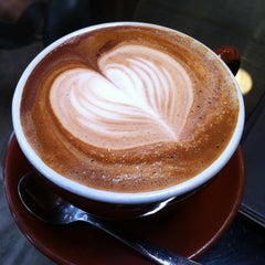 Photo taken at Ristretto Roasters by Mary Jane G. on 7/15/2012