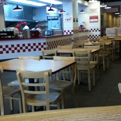 Photo taken at Five Guys by Nels H. on 5/24/2012