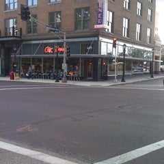 Photo taken at City Diner at the Fox by John B. on 6/21/2012