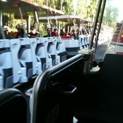 Photo taken at Mickey & Friends Tram by Jose R. on 4/3/2012