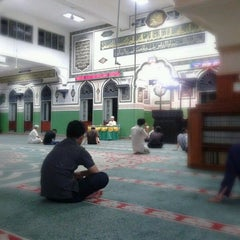 Photo taken at Masjid Agung Al-Azhar by MSR on 3/7/2012