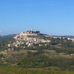 Photo taken at Motovun - Montona by denis i. on 9/7/2012