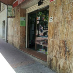 Photo taken at Llibreria Papereria Avui by Andrea S. on 7/26/2012