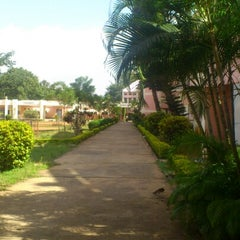 Photo taken at Sri Sathya Sai Institute of Higher Learning by Aditya D. on 8/20/2012
