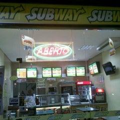 Photo taken at Subway by João M. on 3/24/2012