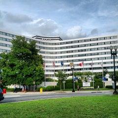 Photo taken at Washington Plaza Hotel by Dan P. on 8/20/2012