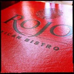 Photo taken at Rojo Mexican Bistro Rochester by Ryan K. on 4/27/2012