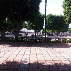 Photo taken at Jardín Niños Héroes by maguila u. on 8/21/2014