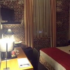 Photo taken at Ghent River Hotel by Мария Н. on 11/27/2015