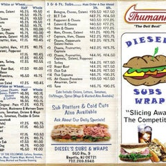 Photo taken at Diesels Subs And Wraps by James V. on 7/16/2013