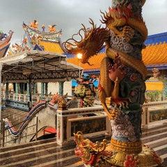Photo taken at โรงเจหอคุณธรรมฟ้า by Somchit T. on 9/7/2014