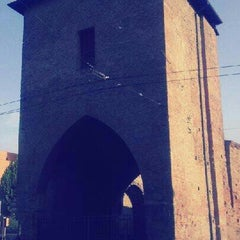 Photo taken at Porta Mascarella by Eleonora R. on 9/17/2012