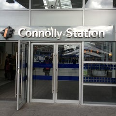 Photo taken at Dublin Connolly Railway Station by Missy's Mammy V. on 3/13/2013