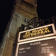 Photo taken at St. Mary's Cathedral by Barry B. on 4/12/2014