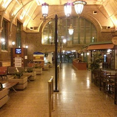 Photo taken at Gare du Palais by Marc-André B. on 6/24/2013