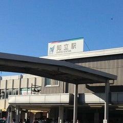 Photo taken at 知立駅 (Chiryu Sta.) by Kenji T. on 9/25/2013