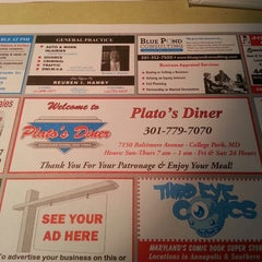 Photo taken at Plato's Diner by Michael G. on 12/29/2013