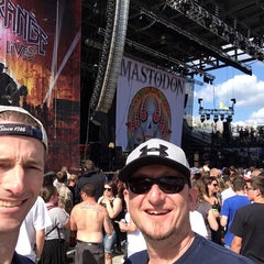 Photo taken at Rock On The Range by Chris L. on 5/18/2014